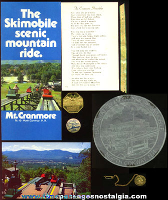 (12) Mount Cranmore Skimobile Souvenir Items