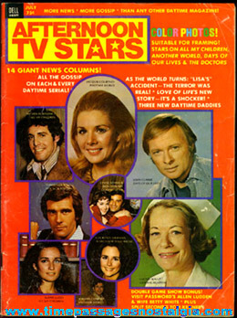 "�1974 Issue Of ""AFTERNOON TV STARS"" Magazine"