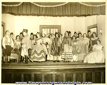 "(7) 1956 Items For The Theatre Play: ""THE BOHEMIAN GIRL"""