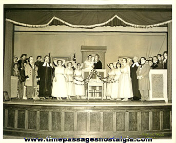 "(4) 1956 Items For The Theatre Plays: ""THE TELEPHONE"" ""LADIES OF THE MOP"" ""TRIAL BY JURY"""
