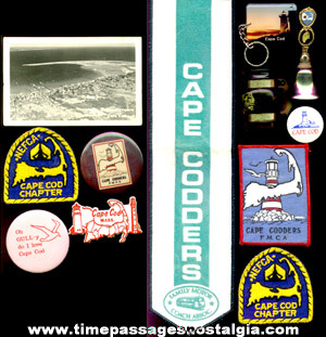 (12) Cape Cod, Massachusetts Items