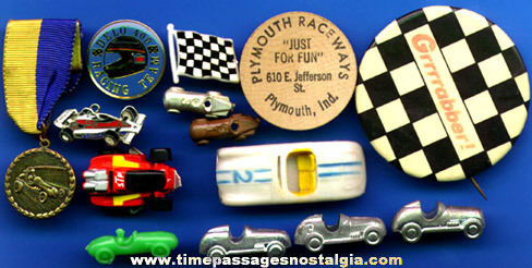 (14) Small Auto Racing Related Items