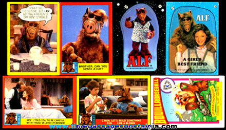 (50) 1980's ALF Non-Sports Trading Cards