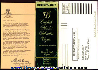 (12) 1984 Cuesta - Rey International Cigar Advertising Items