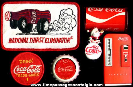 (6) Coca-Cola Advertising Premium Items