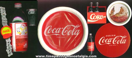 (8) Coca-Cola Advertising and/or Premium Items