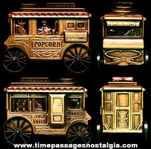 ©1974 Metal Bank Advertising Popcorn Wagon Savings Bank