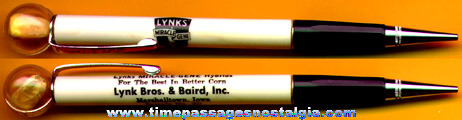 Old LYNKS' MIRACLE GENE HYBRIDS Corn Advertising Mechanical Pencil