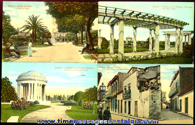 (8) Old Havana, Cuba Picture Post Cards