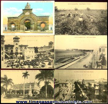 (9) Old Havana, Cuba Picture Post Cards
