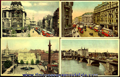 (8) 1944 London, England Picture Post Cards