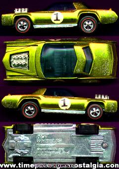 ©1969 Hot Wheels Lime Green Redlines Sugar Caddy