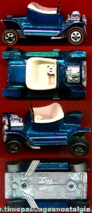 ©1968 Hot Wheels Blue Redlines Hot Heap