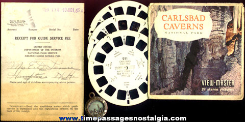 (17) Old Carlsbad Caverns, New Mexico Items