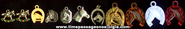 (11) Gumball Machine Prize Horse Charms