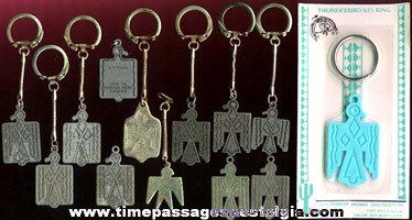 (13) Native American Indian Children Key Chains