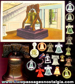 (20) Liberty Bell Related Items
