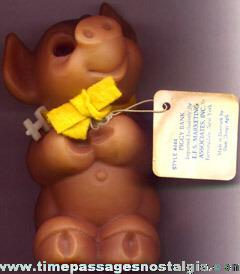 Piggy Bank Troll Pig Figure