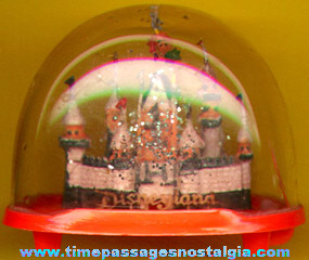 Old Disneyland Sleeping Beauty Castle Snow Globe Or Dome