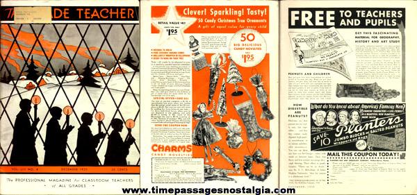 December 1935 Issue Of: The Grade Teacher Magazine