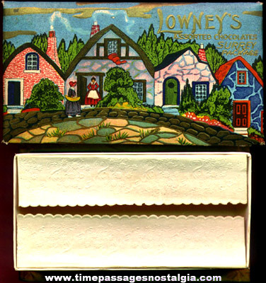 Old Lowney's Assorted Chocolates Surrey Candy Box