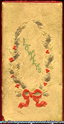 Old Lowney's Christmas Chocolates Candy Box