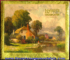 (2) Old Lowneys Chocolates Candy Boxes