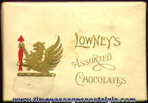 (2) Small Old Lowney's Chocolate Candy Boxes