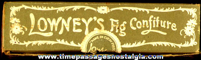 Small Old Lowney's Fig Confiture Candy Box