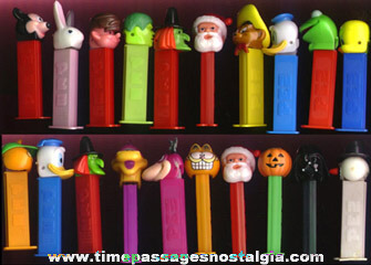 (50) PEZ Candy Dispensers