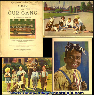 "©1929 Hal Roach Comedies ""A DAY WITH OUR GANG"" Book"