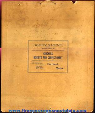 (2) Old Advertising Premium United States Navy Ship Prints