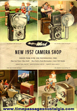 1957 Montgomery Ward Camera & Accessory Catalog