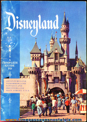 (4) 1956 Disneyland Souvenir Items