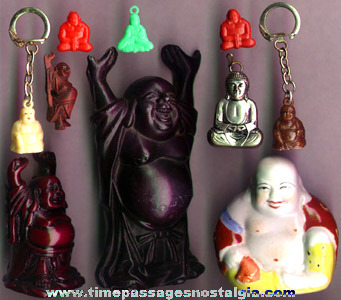(10) Small Buddha Figures