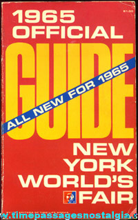(6) 1964 - 1965 New York World's Fair Souvenir Items