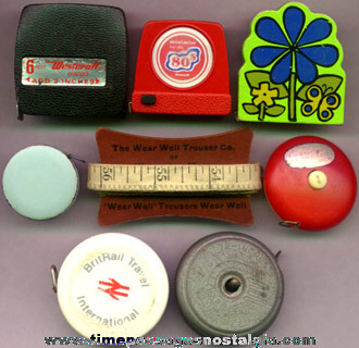 (8) Small Tape Measures