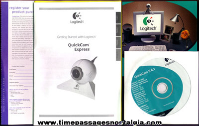 Brand New Unused Logitech Quick Cam Express PC Camera With Software