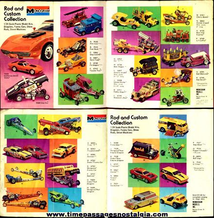 ©1974 Monogram Model Kit Advertising Brochure