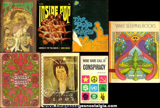 (7) Interesting 1960's - 1970's Paperback Books