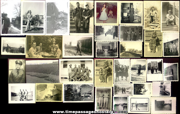 (36) Old Military Photographs