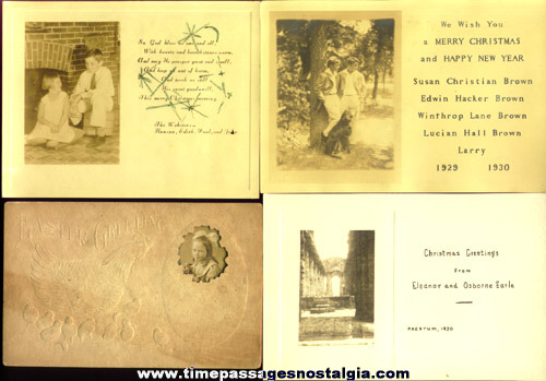 (9) Old Photograph Greeting Cards
