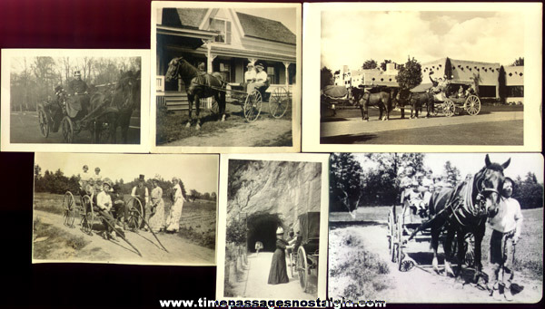 (6) Old Wagon / Carriage Photographs