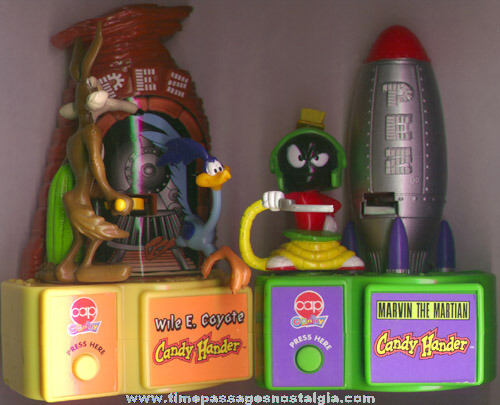 (2) Looney Tunes Battery Operated PEZ Candy Dispensers