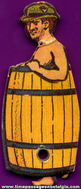 Cracker Jack Premium / Prize Paper Walker Figure