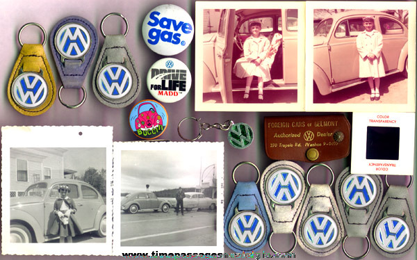 (18) Small Old Volkswagen Related Items