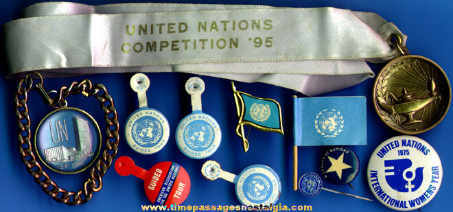 (11) Small United Nations Items