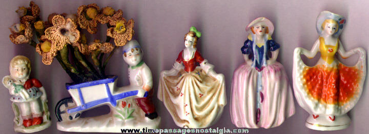 (5) Old Occupied Japan Figurines