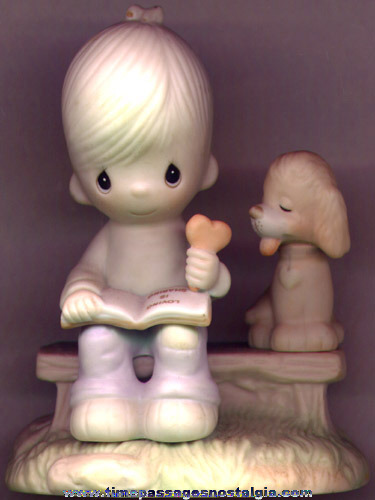 "�1979 Precious Moments ""LOVING IS SHARING"" Figurine"