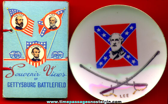 (32) Small Confederate States Items
